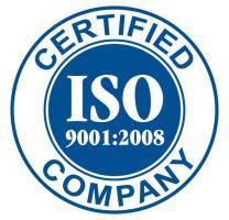 Certification ISO obtenu