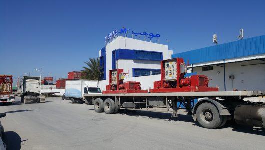 FRET ROUTIER INTERNATIONAL -REMORQUE DE GROUPAGE TUNISIE